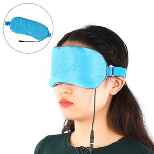 USB Heating Steam Eye Mask Hot Compress Eyeshade Cover Sleeping Blindfold Eyepatch Soft Natural Sleeping Eye Mask for Women Men