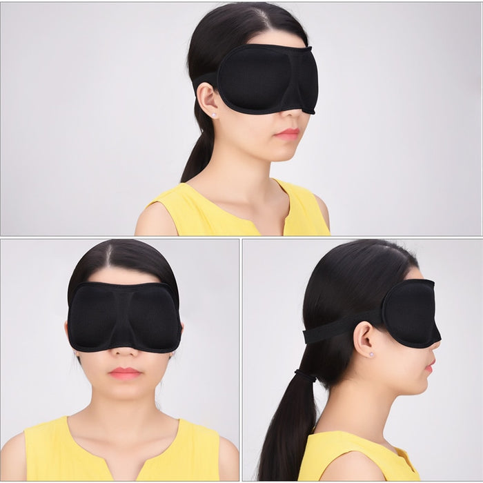 Portable 3D Ultra-soft Sleeping Eye Mask Sleeping Aid Eyeshade Travel Nap Rest High Quality Soft And Comfortable for Women Men46
