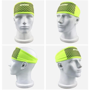 Sports Yoga Basketball Gym Sport Sweatband Headband Stretch Head Hair Band Sweat Sweatband Mens Women Universal Yoga Band