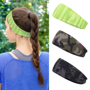 Absorbent Cycling Yoga Sport Sweat Headband Men Sweatband For Men and Women Yoga Hair Bands Head Sweat Bands Sports Safety