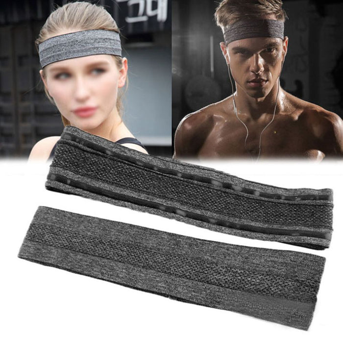 24.5CM Absorbent Sport Sweat Headband Sweatband For Men Women Yoga Hair Bands Head Sweat Bands Sports Safety