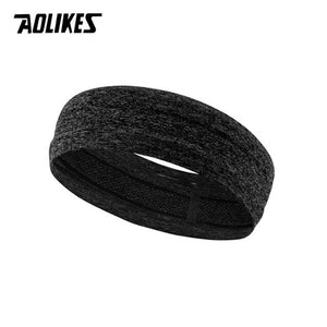 1PC Women Sweat Headband For Men Sweatband Ladies Yoga Hair Bands Head Sweat Bands Sports Safety Running Tennis