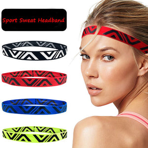 Befusy Absorbent Sport Sweat Headband Sweatband For Men and Women Yoga Gym Hair Bands Head Sweat Bands Running Sports Safety