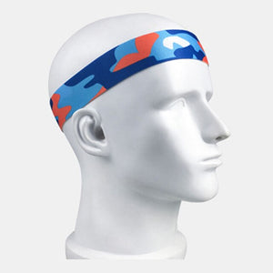 Sweatband head men and women Headband Hair Bands Elastic Soccer Yoga Running basketball Sweat band Head Sweat Band hair clasp
