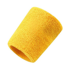 pcs Wristbands Men Women Sport Sweatband Hand Band Sweat Wrist Support Brace Wraps Guards For Gym Volleyball Basketball Solid