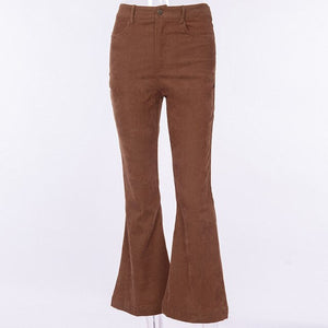 Women Wide Leg Pants Skinny Stretch Ladies Hight Waisted Slim Wide Leg Pants