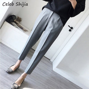 XS-3XL Formal Pants for Women Office Lady Style Work Wear gary pencil pant Business