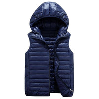 Vest Woman zipper Waistcoat Women Thermal Vests Plus Size Sleeveless Jacket