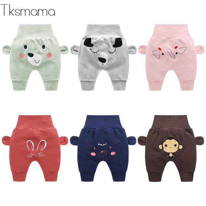 2019 New Fashion Baby Boy And Baby Girl Spring Autumn Cartoon Casual Pants Children Trousers