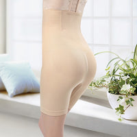 Plus Size Women High Waist Shaping Shorts Girdles Body Shapers Control Panties Butt Lifting Pants Belly Slimming Shaping Pants