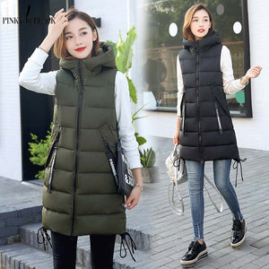 Autumn Winter Vest Women Waistcoat Female Sleeveless Vest Jacket