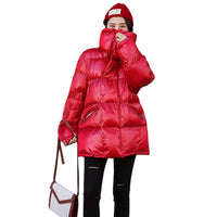 New Winter Jacket Women Parka Thick 2019 Fashion
