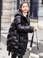 Winter Jacket Women Clothes Hooded Parka Women Korean Puffer Jackets Long Coat Female