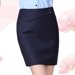 OL Women High Waist Skirt Women Fit Knee Length Straight  Skirt  Plus Size Solid Stretch Business Pencil Skirt  XS-4XL TR058