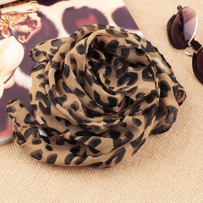 Square Scarves Fashion Design Hot Long Sexy Leopard Scarf Women Warmth