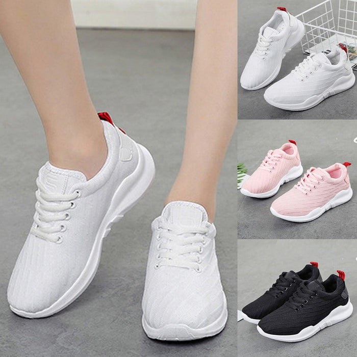 Fashion Sneakers Women Outdoor Running Shoes Mesh Shallow Sneakers Breathable Comfortable Lightweight Casual Ladies Casual Shoes