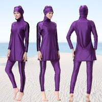 Burkini Muslim Swimsuit Women Swimwear Traditional Fullbody Fashion Sport