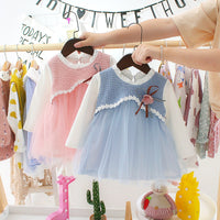 2019 Autumn Baby Dress For Newborns Girl Long Sleeve Infant Dress Baby Girl Clothes Princess Birthday Party tutu Toddler Dresses