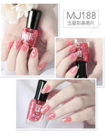 Nail Polish Quick Dry Pulling Nontoxic and Odorless Nail Stamping Polish
