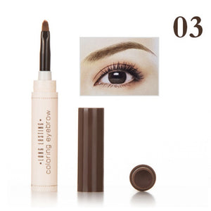 1pcs Natural Makeup Eyebrow Pencil Professional Brow Tint Tattoo Paint Cream Wax Waterproof Eyebrow Dye Brush Pen TSLM2