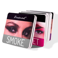 Color Wine Red Eyeshadow Palette Pressed Shimmer Matte Eye Shadow MakeUp
