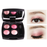Portable Matte Eyeshadow Palette Natural Nude Earth Color Eye Shadow Beauty Makeup 4 Colors