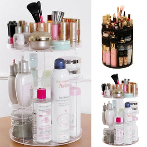 Makeup Storage Organizer Rotating Adjustable Storage Casual, Travel, Outdoor, etc Cases Holder Cosmetics, etc