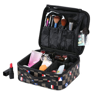 Portable Makeup Box Women Travel Make Up Organizer Cases Big Capacity Cosmetic