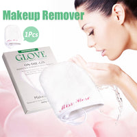 Reusable Microfiber Facial Cloth Face Towel Makeup Remover Cleansing Glove Tool Makeup