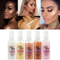 Bronzer Highlighter Liquid Setting Illuminating Face Body Moisturizing Shimmer