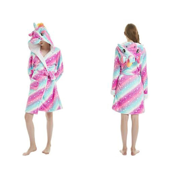 Woman Cloak Pajamas szlafrok Bridesmaid Robes Fun Sleepwear Cute Bride Bath Robe