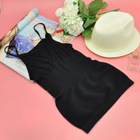 Professional Women Shaping Chip Memory Sling Tops Female Slimming Body