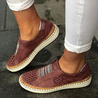 White Women Shoes Flats Casual Shoes 2019 Fashion Mesh Women Sneakers Platform Flats Breathable