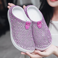 Original Clog Women Classic Sandals Summer Outdoor Beach Shoes Fit Flop Slip On Garden Casual Water Blooms Yetis Slippers