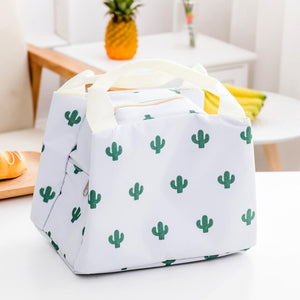 Lunch Box Bag Tote Hot Cold Insulated Thermal Cooler Travel Work School Picnic
