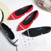 Luxury Women Shoes New Women's Casual Flat Shoes, Shallow Tops
