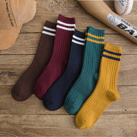 Knee High Socks High Quality Socks Women Long Cotton Women Causal Leg Warmers Knit Knitted Crochet Socks W411