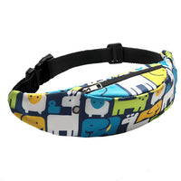 Fashion Belt Bag Waist bag new Colorful  Wild 3D Digital Printing Waterproof Travel