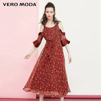 Vero Moda Floral off-the-shoulder long dress maxi dress | 31836Z501