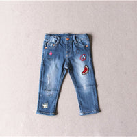 SHUZHI Fashion baby pants baby girls jeans kids jeans Casual toddler skinny jeans for girl