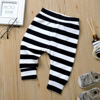 Baby Pants Spring and Autumn Trousers Cute Men and Women Baby Striped Pants Baby Pants Out of Harem Pants
