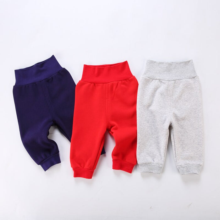 Baby clothes baby girl boy pants cotton winter pants baby boys clothes baby girls clothes kids clothes high waist children pants
