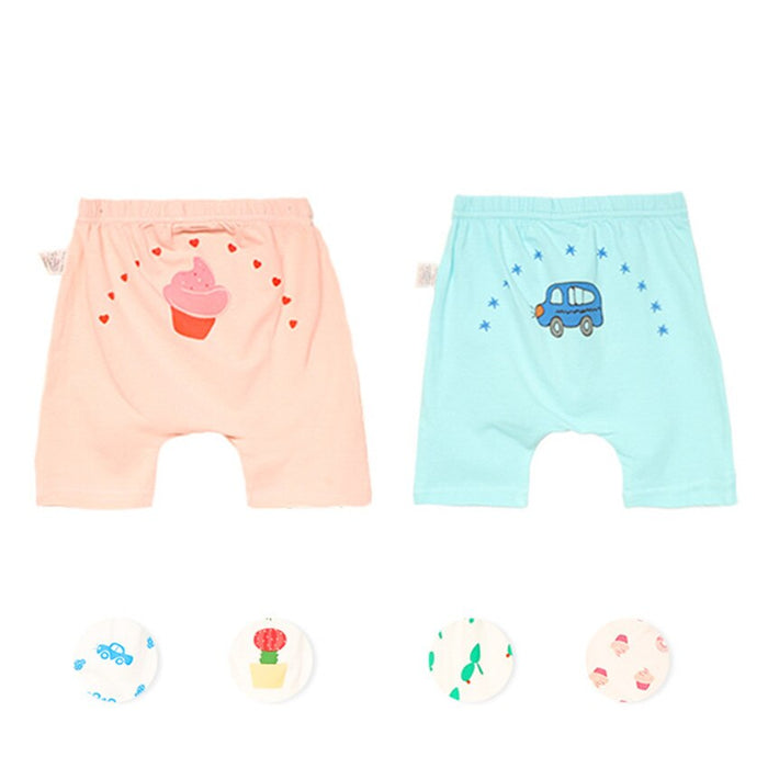 [ABYABYGO] Baby Pants Newborn Cute Cartoon Soft Cotton Boys Girls Bottoms Pants