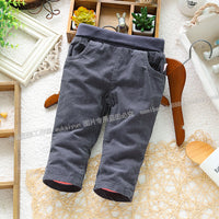 new 2013 autumn winter pants baby clothing unisex children casual pants newborn skinny pants double boys pants