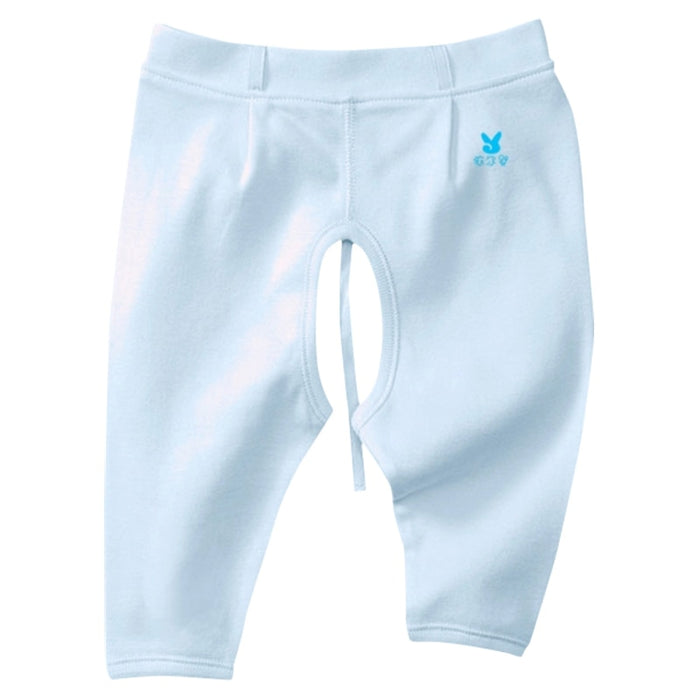YiErYing 3pcs Newborn Pants Sets 100 %Cotton Pure Colour Leisure Open Crotch Trousers For Baby Boys Girls