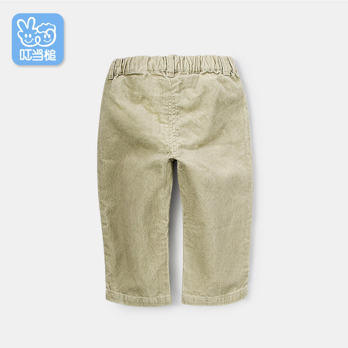 Dinstry boy trousers baby spring and autumn sports pants infants out pants pants children's clothing