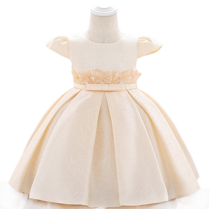 Elegant Baby Dress 2019 Summer Baby Girls Princess Dress Infant Party Christening