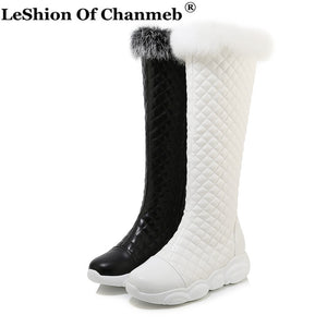 New Warm Women Quilted Boots Female Winter Snow Boots