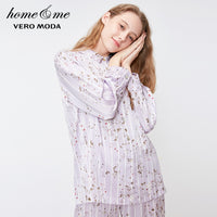Vero Moda Women's Print Striped Homewear Tops | 3184P9501
