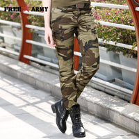 Fashion Women Camouflage Pants Women's Army Cargo Pencil Pant Slim Cotton Waist